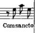 Bach Cum Sancto 1